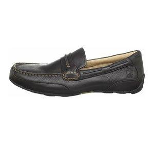 Sperry Navigator Brown Leather Loafer Moccasin